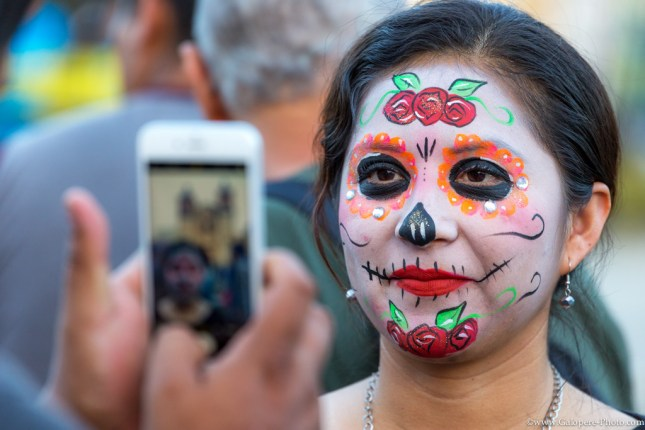 Becoming a Catrina