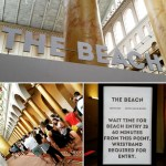 the beach, national building museum, summer