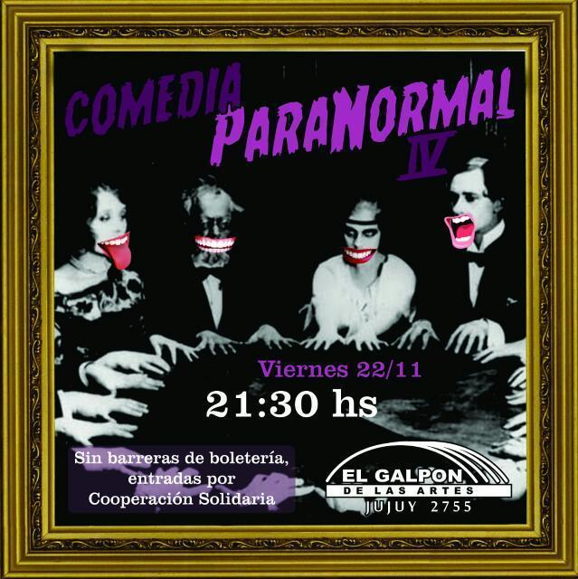 Foto de Comedia Paranormal
