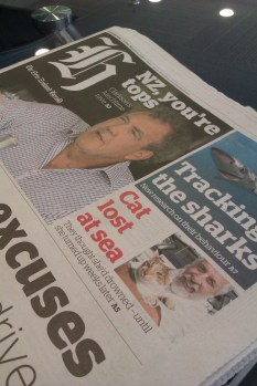 Cat lost at sea makes headlines