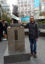 Hachiko Memorial in Shibuya