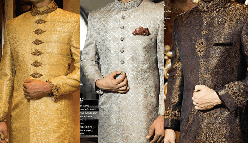 J.Couture Men Sherwanis Wedding Dresses Collection 2016-17