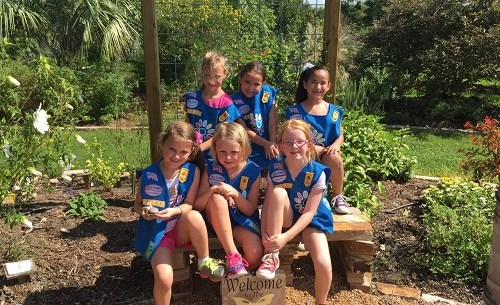 MG Garden Girl Scout Daisy Troop