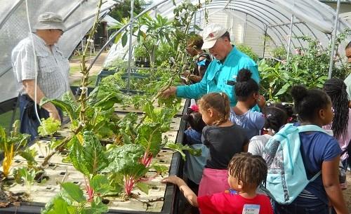 MG Kids Garden Tour