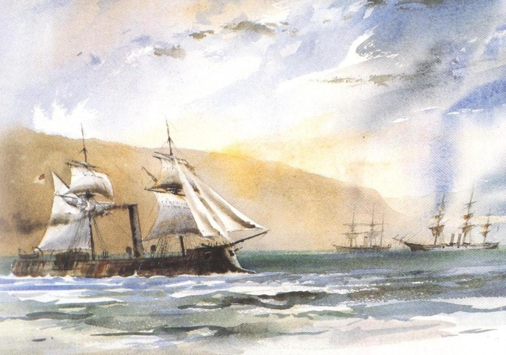 Singing Freedom's Song – Texas, the Irish and the War for Southern Independence – Part IV – The Anaconda Plan (6/6)