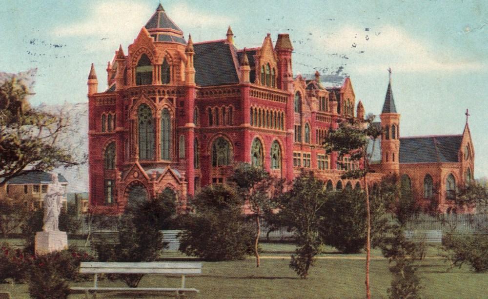 Virtus sola nobilitat - The Ursuline Academy in Galveston (1/6)