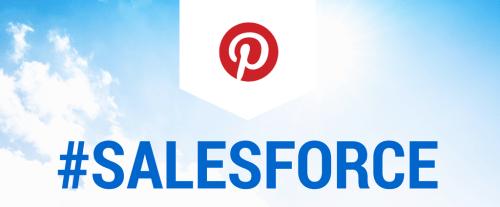 #Salesforce Pinterest