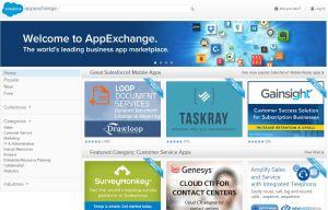 Salesforce AppExchange Screenshot