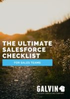 The Ultimate Salesforce Checklist