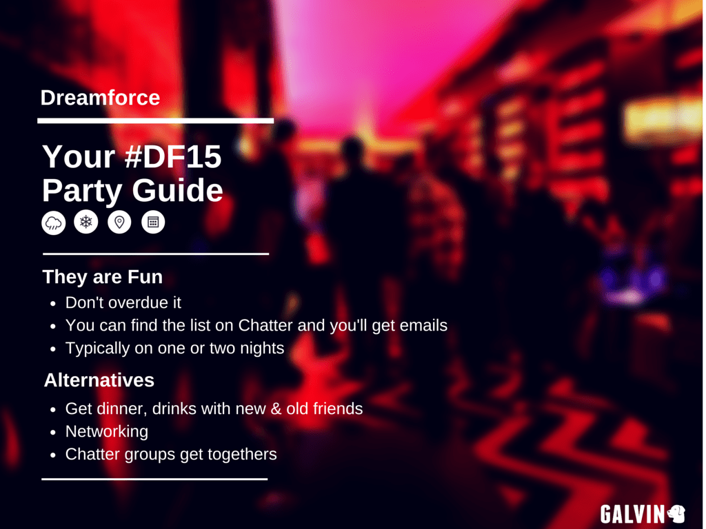 Dreamforce Party Guide