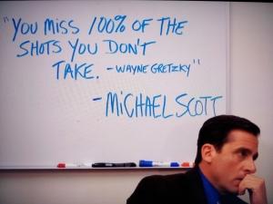 Michael Scott Wayne Gretzky