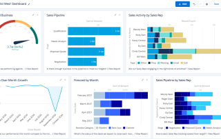 Salesforce Team Dashboard