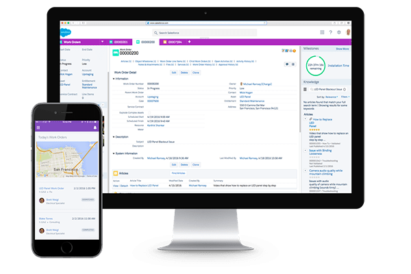 Salesforce Field Service Lightning Consulting - Galvin