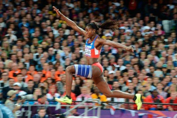 Catherine IBARGUEN medalla plata en atletismo