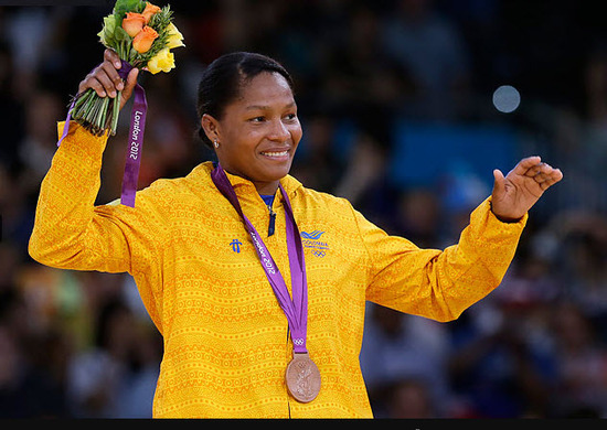 Yuri Alvear medalla de bronce en Judo