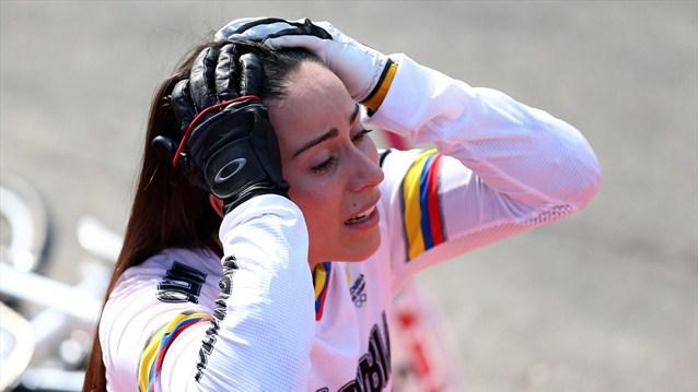 Mariana Pajon Oro BMX Londres 2012 Colombia