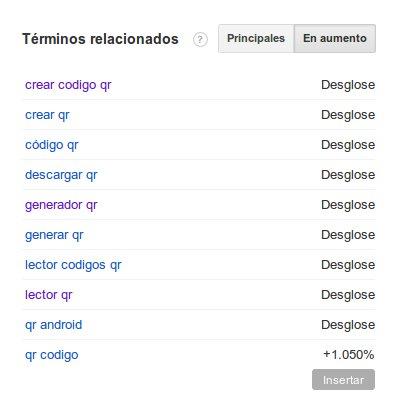 Busquedas Google QR