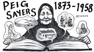 Peig Sayers Cartoon by Ciaraíoch