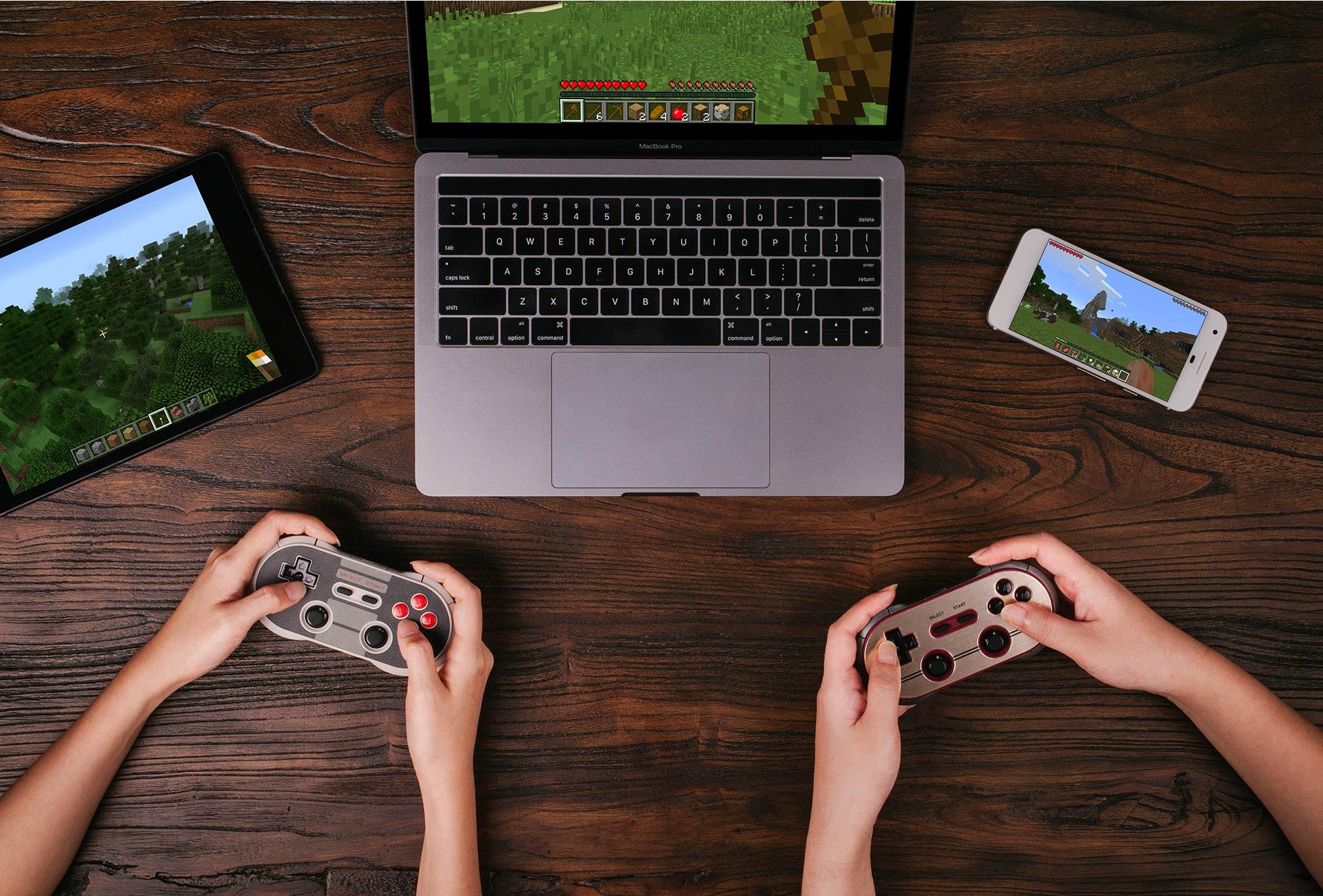 8bitdo F30 Pro Wireless Gamepad Bluetooth Controller For