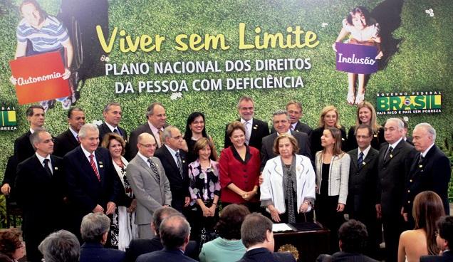 """Governo Federal lança Plano Nacional dos Direitos da Pessoa com Deficiência """"Viver sem Limite"""""""