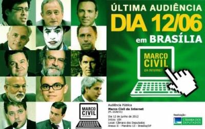 Nesta terça (12) em Brasília, acontece última audiência do Marco Civil da Internet