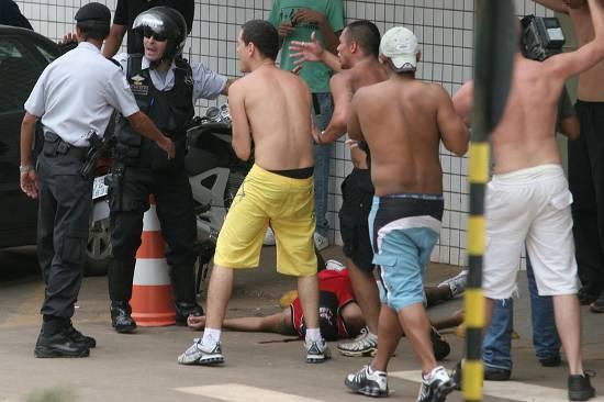 GDF é condenado a pagar indenização por morte de torcedor do São Paulo durante briga no DF