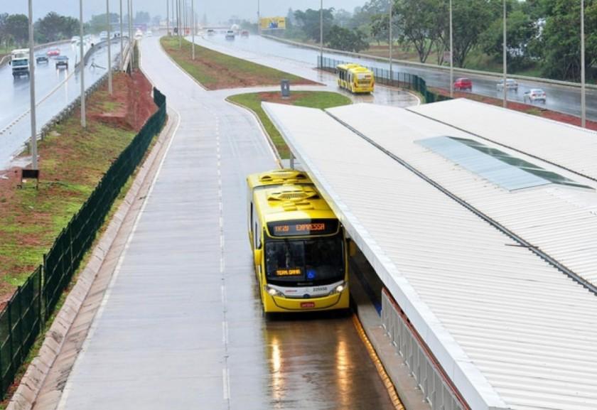 Melhorias no BRT do Gama e de Santa Maria