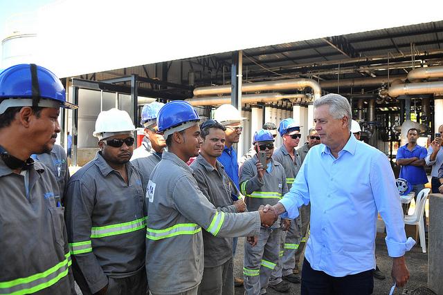 Estação de Tratamento de Água do Gama beneficiará até 135 mil moradores