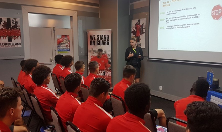Copa do Mundo Sub-17 da FIFA™: educando os jogadores para a vida