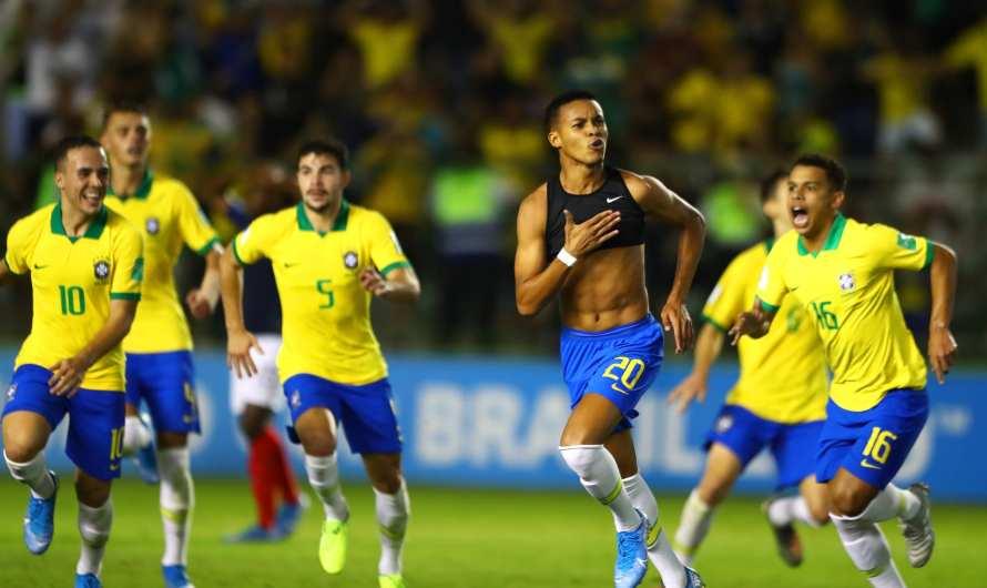 Brasil reage, vira sobre a França e pega México na final do Mundial sub-17