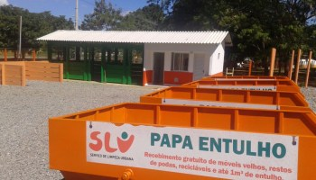 Papa Entulho no Setor Sul do Gama