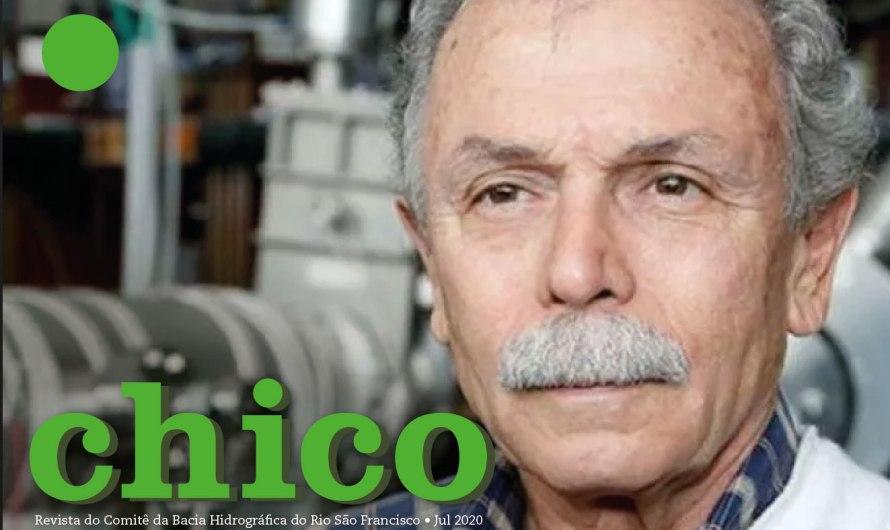 Ricardo Galvão, ex-diretor do Inpe, em entrevista à Revista Chico nº 7