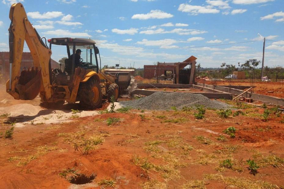 Remoção de ocupação irregular em área rural do Gama