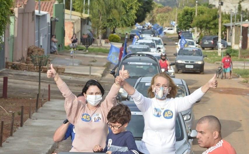 Lêda Borges do PSDB lidera corrida à prefeitura de Valparaiso