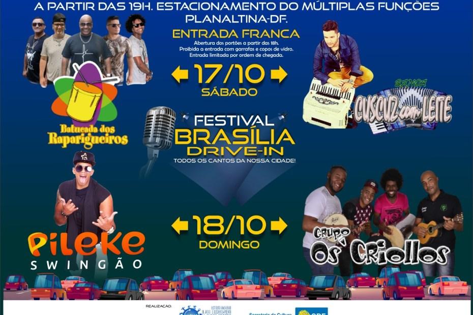 Festival Brasilia Drive-In: todos os cantos da nossa cidade
