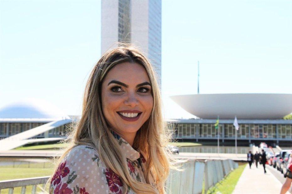 Paula Belmonte de olho no Palácio do Buriti