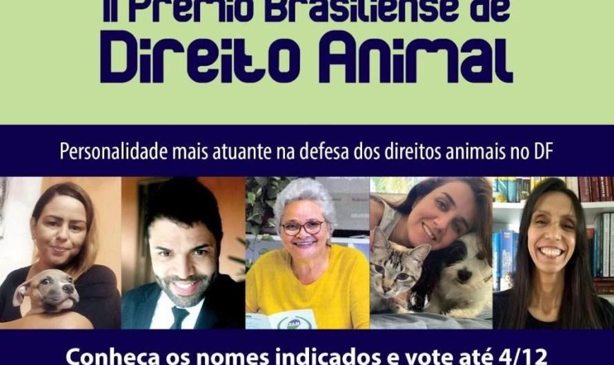 Delegado do Gama concorre ao II Prêmio Brasiliense de Direito Animal