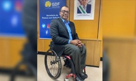 Flávio Santos é o novo secretário da Pessoa com Deficiência do DF