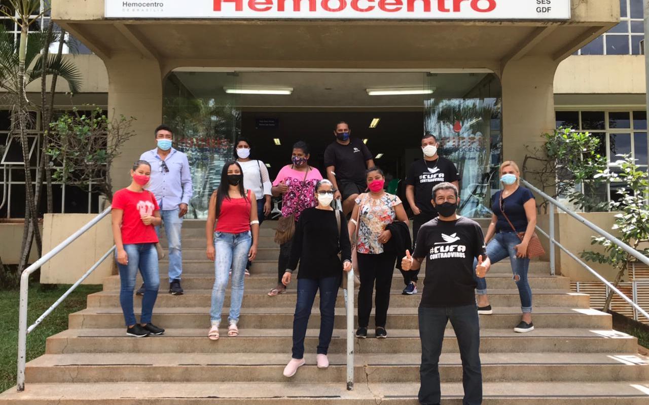 Sangue Bom: Cufa-DF promove ação de doações de sangue