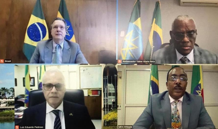 Etiópia e Brasil realizam segunda consulta política virtual