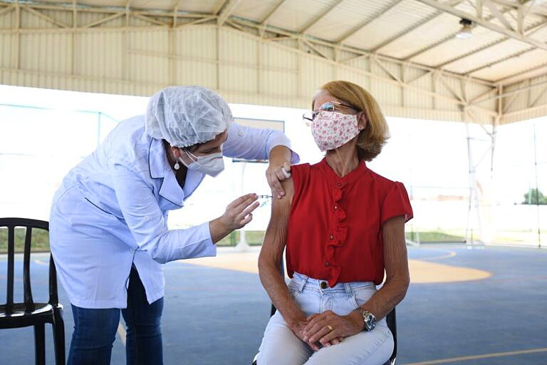 'Sua Vida Vale Muito' ultrapassa 20 mil doses de vacina aplicadas