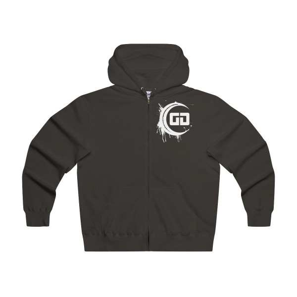 Gamadise Gaming Black Zip Hoodie