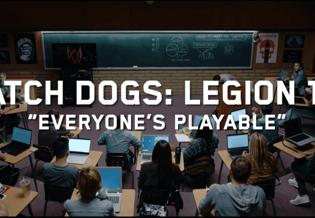 Watch Dogs Legion 101 Everyone's Playable