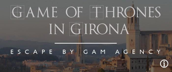 Городской квест в Жироне «Игра престолов в Жироне»