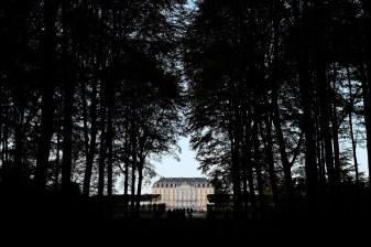 Schloss Augustusburg vom Schosspark aus