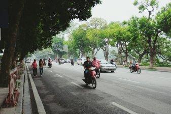 Sieht vielleicht harmlos aus, aber solche Straßen zu überwinden ist nicht einfach