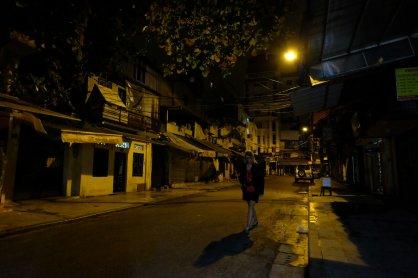Old Quarter bei Nacht