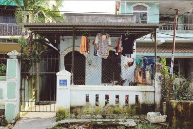 Typisches Haus in der Siedlung