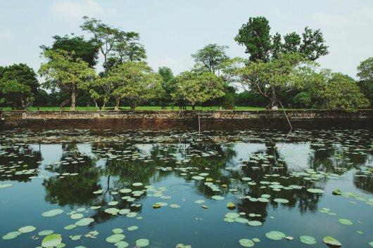 Ein Teich im Kaiserpalast