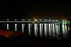 Eine der Brücken über den Parfüm Fluß